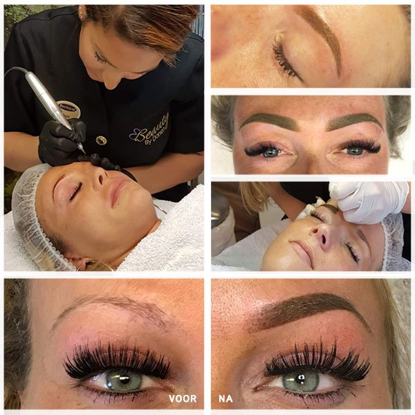 powder brows PMU dorien.nl