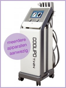 cryolipolyse bij Dorien anti-ageing center CoolipoTwin
